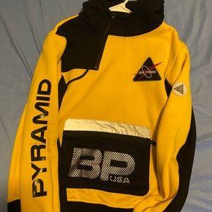 Black pyramid 3m pullover hoodie